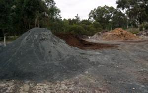 basalt rock dust